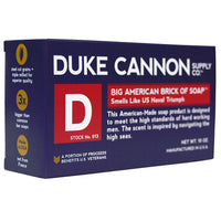 Duke Cannon Men's Bar Soap - 10oz. Big American Brick Of Soap By Duke Cannon - Naval Triumph