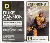 Duke Cannon WWII Era Collection of Men's Big Brick of Soap: Accomplishment, Victory, Naval Supremacy, and Productivity
