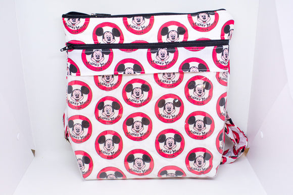 Quilted Convertible Purse - Mickey Mouse Club