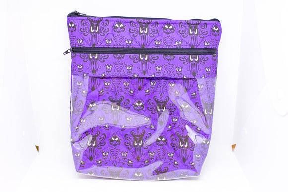 Quilted Convertible Purse - Haunted Mansion