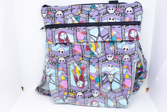 Quilted Convertible Purse - Jack and Sally