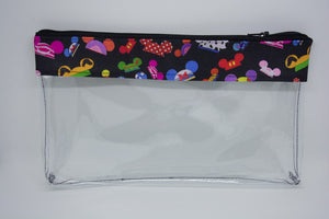 Makeup Bag- Black Hats