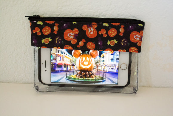 Mini Pumpkin Mickey Bag