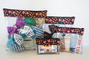 Travel Bag Set -  Pumpkin Mickey