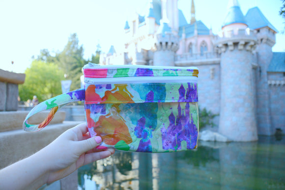Touch Screen Wristlet - Watercolors
