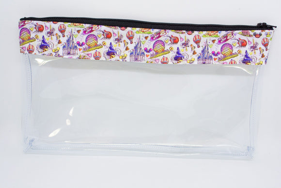 Makeup Bag - WDW Icons