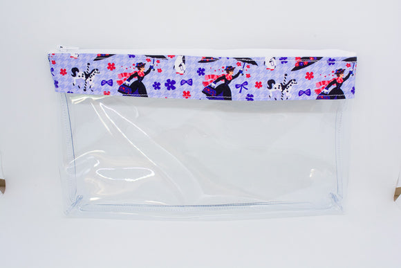 Makeup Bag - Purple Mary Poppins
