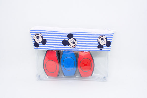 Mini Blue Mickey Stripes