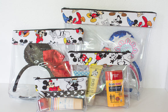 Travel Bag Set - Mickey Through the Years