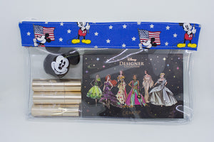 Makeup Bag - Mickey Flag