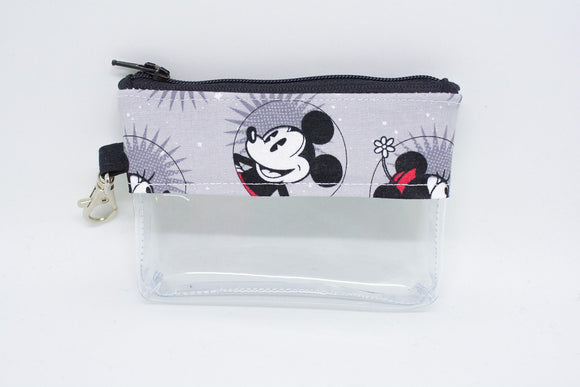 Coin Bag - Smiling Mickey and Minnie