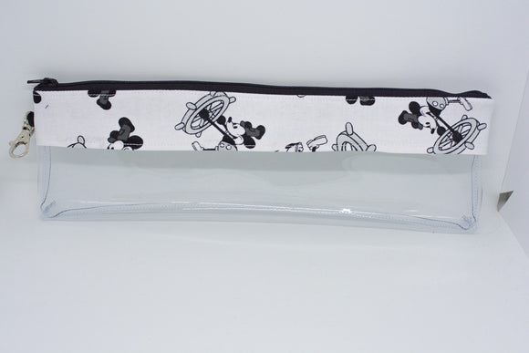 Reusable Straw Bag - Steamboat Willie