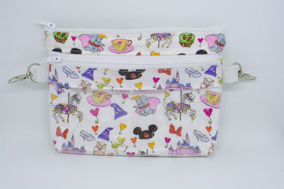 Small Belt Bag - Disney Doodles
