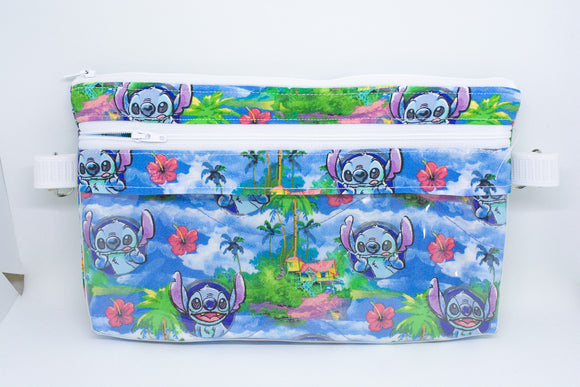 Large Belt Bag - Tropical Stitch