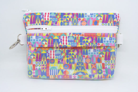 Small Belt Bag - Colorful Small World