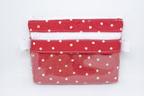 Small Belt Bag - Red Polka Dots
