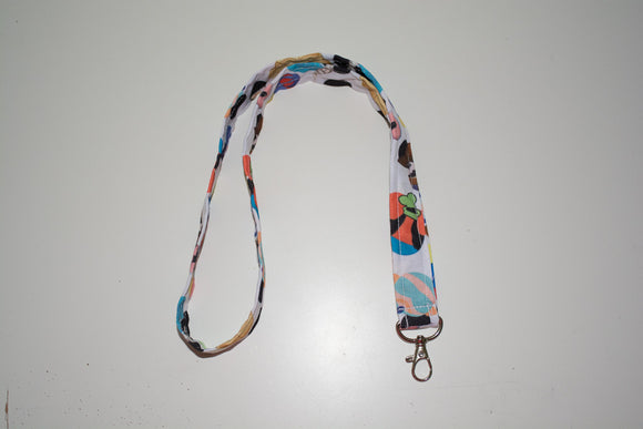 Thick Lanyard - Mickey Characters