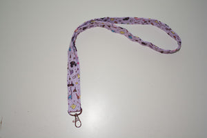 Thick Lanyard - Purple Park Icons