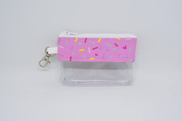 Coin Bag - Pink Mickey Sprinkles