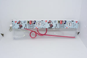 Reusable Straw Bag - European Mickey