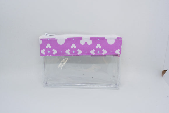 Coin Bag - Magenta Mickey