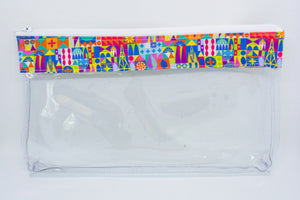 Makeup Bag - Colorful Small World