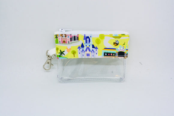 Coin Bag - Disney Map