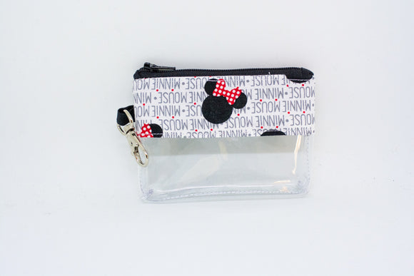 Coin Bag - Minnie Name