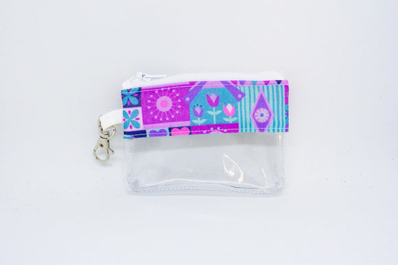 Coin Bag - Purple Small World