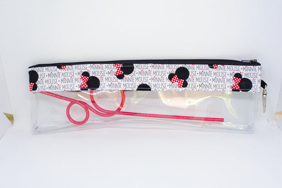 Reusable Straw Bag - Minnie Name