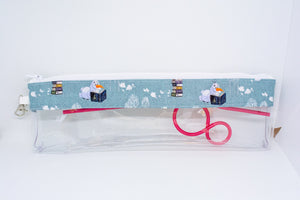 Reusable Straw Bag - Green Olaf