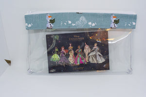 Makeup Bag - Green Olaf