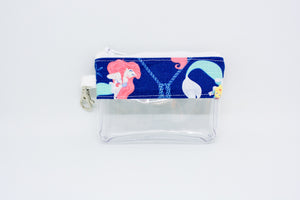 Coin Bag - Blue Ariel