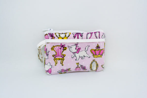 Keychain ID Wallet - Pink Marie