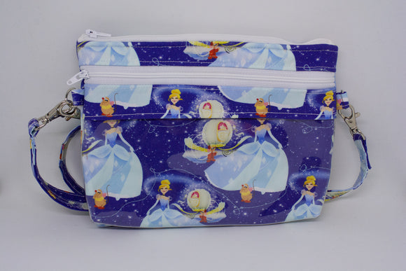 Bear Necessities Bag - Blue Cinderella