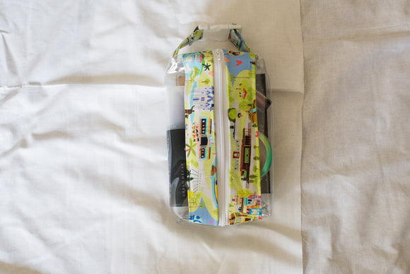 Small Hanging Boxy Bag - Disney Map