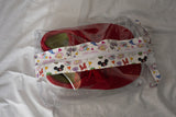 Large Hanging Boxy Bag - Disney Doodles