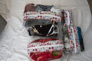 Boxy Bag Set - Minnie Ears