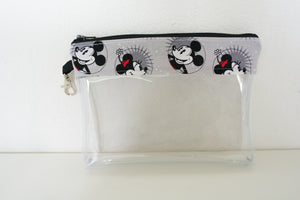 Face Mask Bag - Smiling Mickey and Minnie
