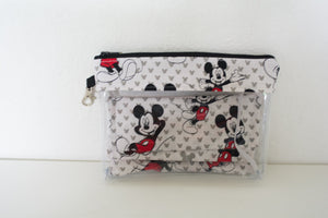 Face Mask Bag With 1 Matching Mask - Mickey Solo