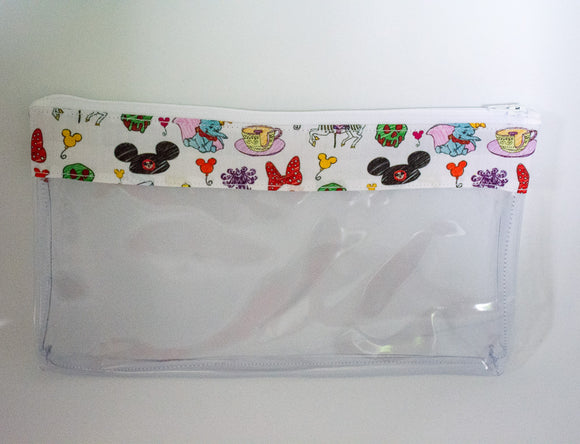 Makeup Bag - Disney Doodles