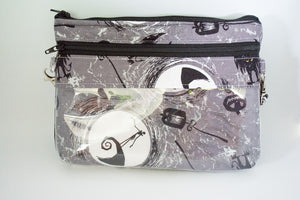 The Bear Necessities Bag -  Grey Nightmare Before Christmas