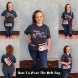 Large Belt Bag - Disney Doodles