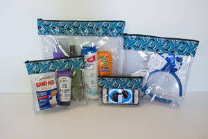 Travel Bag Set - Blue Incredibles
