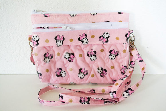The Bear Necessities Bag - Millennial Pink