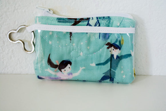 Keychain ID Wallet - Mint Green Peter Pan