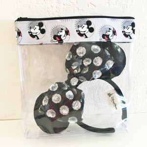 Medium Smiling Mickey and Minnie Bag