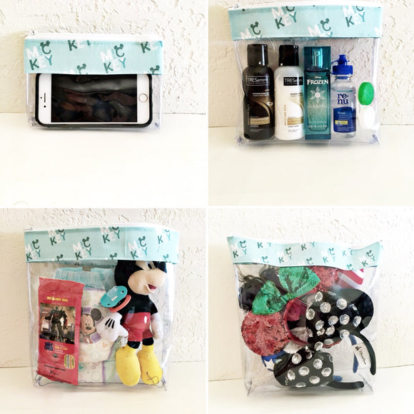 Travel Bag Set - Mickey's Name