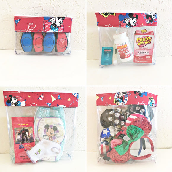 Travel Bag Set - Minnie's Cruise Line