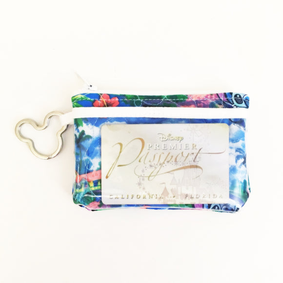 Keychain ID Wallet - Tropical Stitch